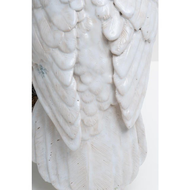 1930s Hand Painted Cockatoo Figure by Silvestrie For Sale In West Palm - Image 6 of 13
