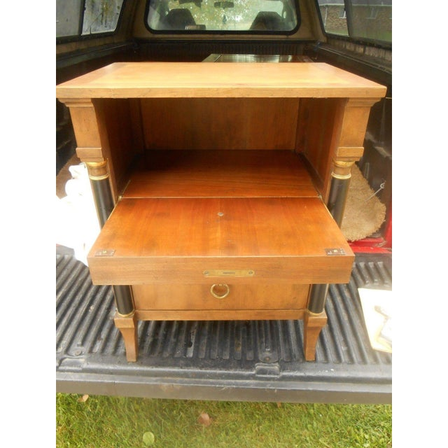 Vintage Baker Furniture Nightstand For Sale - Image 7 of 8