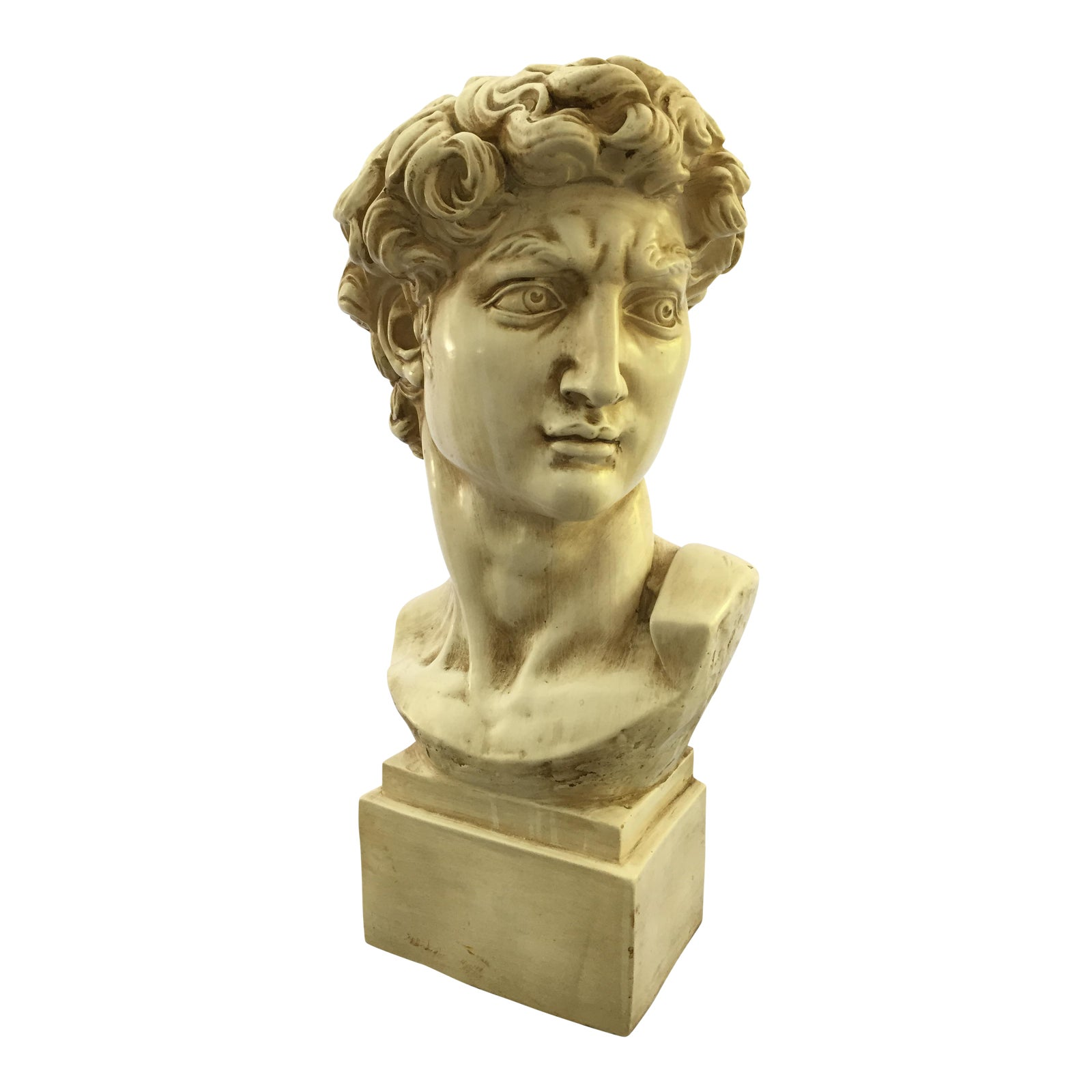 1965 David Bust Sculpture Chairish