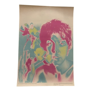 """Richard Avedon Psychedelic Beatles Poster """"Paul"""" for Stern Magazine For Sale"""