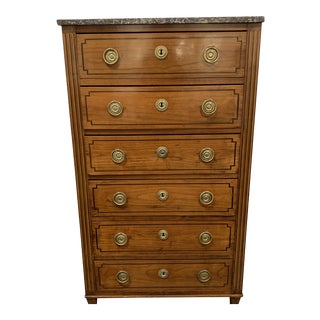 Louis XVI Fruitwood Chiffonnier For Sale
