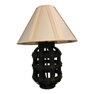 Bentwood Lamp with Knot Detailing