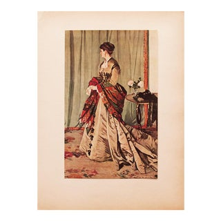 "1930s Claude Monet, Rare Original ""Madame G"" Lithograph For Sale"