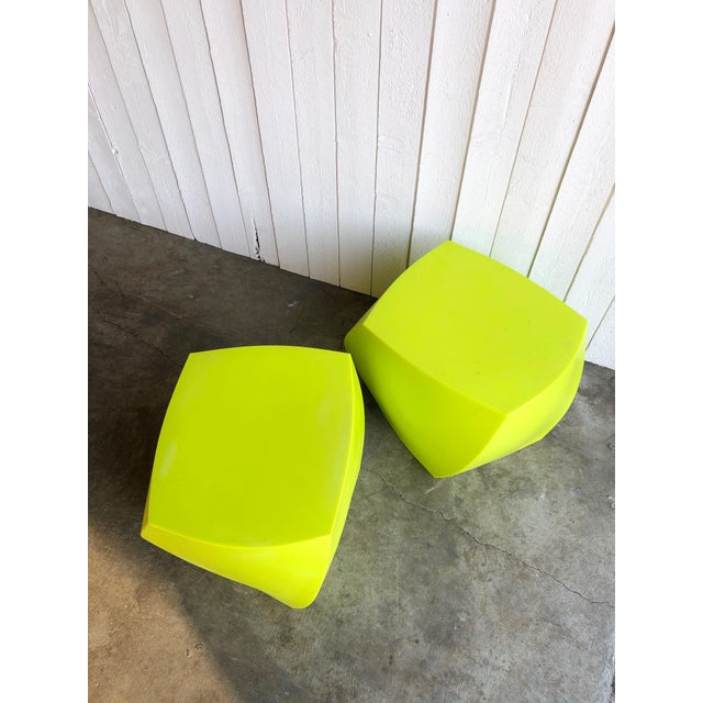 Twist Cubes by Frank Gehry for Heller- a Pair For Sale In Portland, OR - Image 6 of 10
