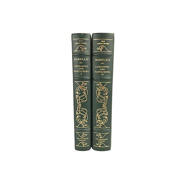 The Histories of Gargantua and Pantagruel in two volumes by François Rabelais. The Franklin Library's The Great Books...
