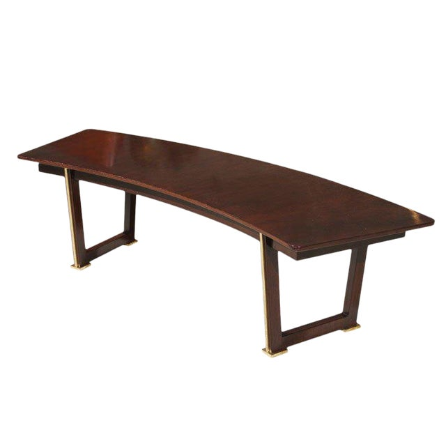 Jules Leleu Rosewood Table For Sale