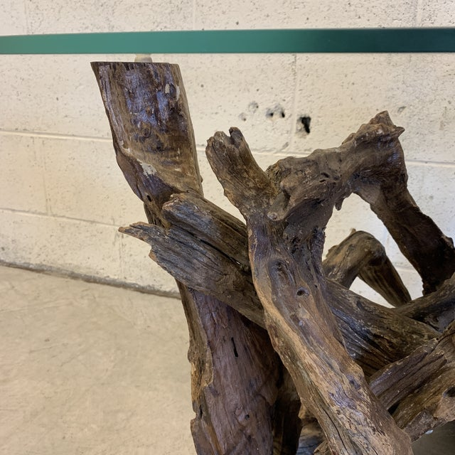 1970s Unique Sculptural Driftwood Table For Sale - Image 5 of 11