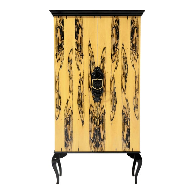 Covet Paris Guggenheim Ebony Royal Cabinet For Sale