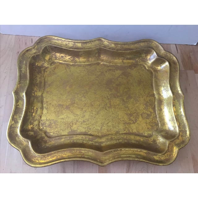 Gilded Ceramic Tray - Image 5 of 5