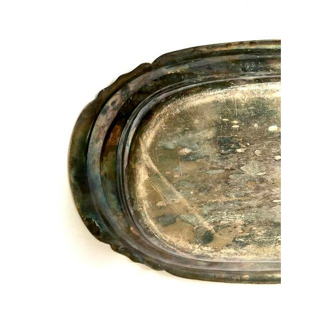 Oval Silver Tray - Image 7 of 9