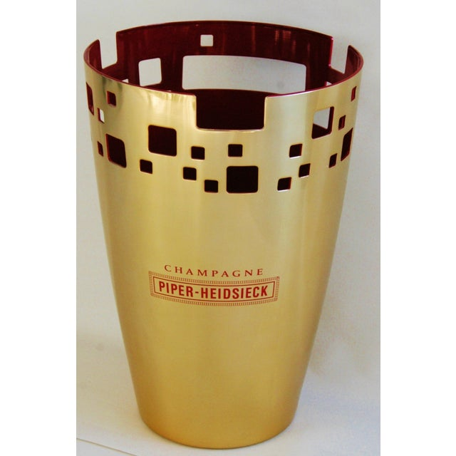 Piper-Heidsieck Champagne Bucket Chiller For Sale - Image 11 of 11