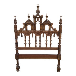 Victorian Aesthetic Twin Headboard Bed For Sale