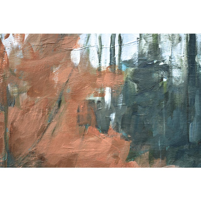 """2010s """"Beech Tree by the Path"""" Contemporary Painting by Stephen Remick For Sale - Image 5 of 10"""