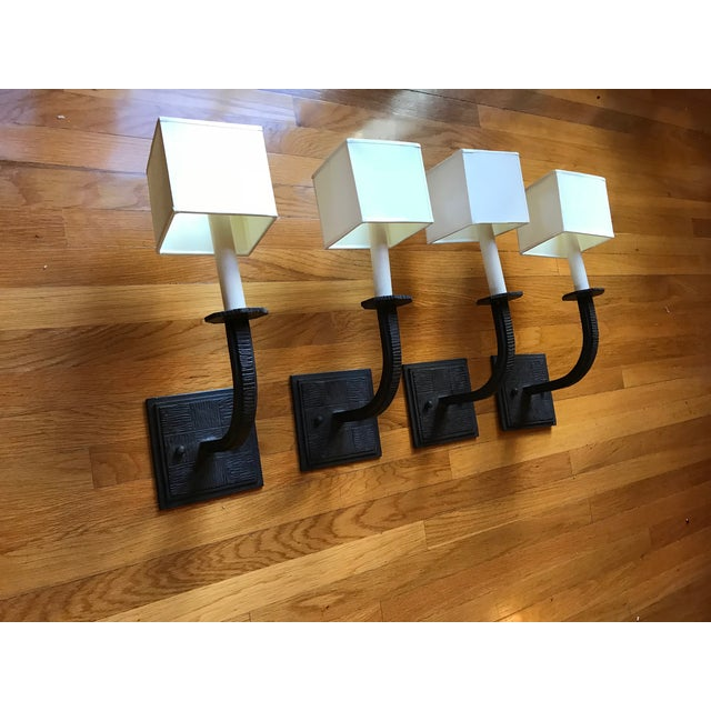 Paul Ferrante Wall Sconces - Set of 4 For Sale - Image 10 of 10