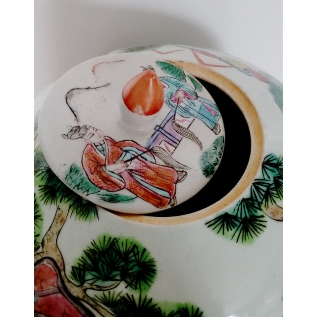 Antique Chinese Ceramic Melon Jar - Image 5 of 7