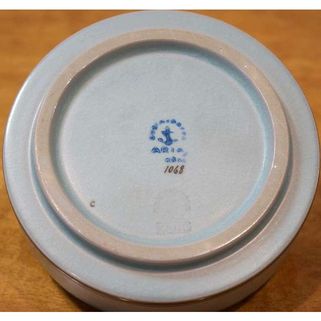 Ceramic Round Lidded Box For Sale - Image 7 of 7