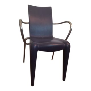 Louis 20 Starck Designer Blue Chair For Sale