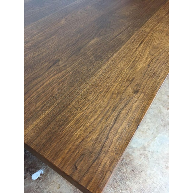Large Walnut Executive Desk - Image 10 of 11