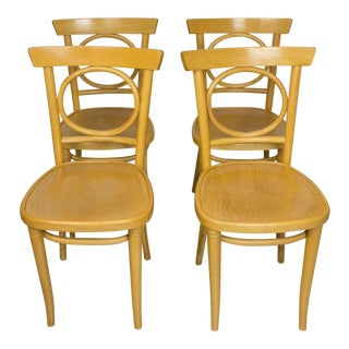 Radomsko Thonet Bentwood Cafe Chairs - Set of 4 For Sale