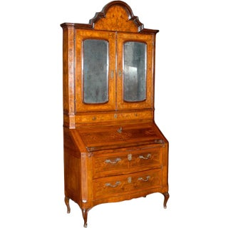 Antique Italian Double Bodied Secretary For Sale