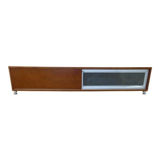Modern Entertainment Low Console Table For Sale