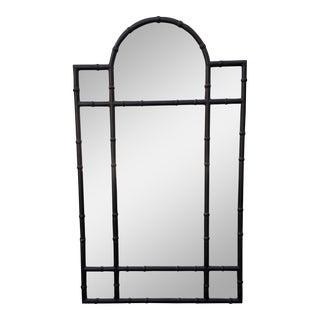 Huge Paul Ferrante Black Iron Aviara Pier Mirror