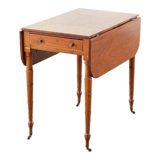 Vintage Regency Pembroke Drop-Leaf Table For Sale