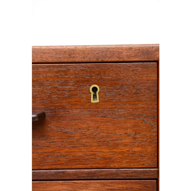 1950s Hans Wegner Mid Century Modern Teak Dresser for Ry Mobler/George Tanier - Image 5 of 9