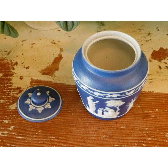 Grecian Lidded Jar For Sale - Image 4 of 7