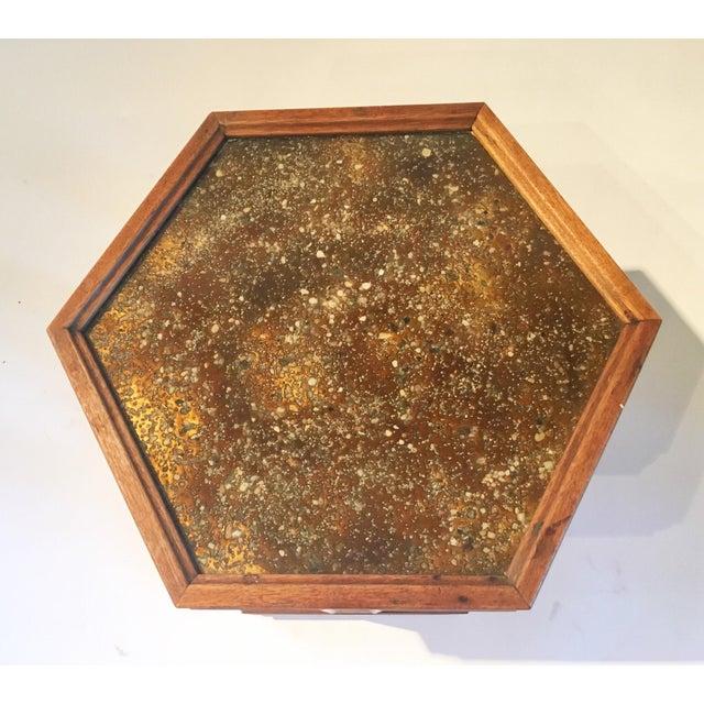 Mid-Century Hexagonal Side Table - Image 7 of 7