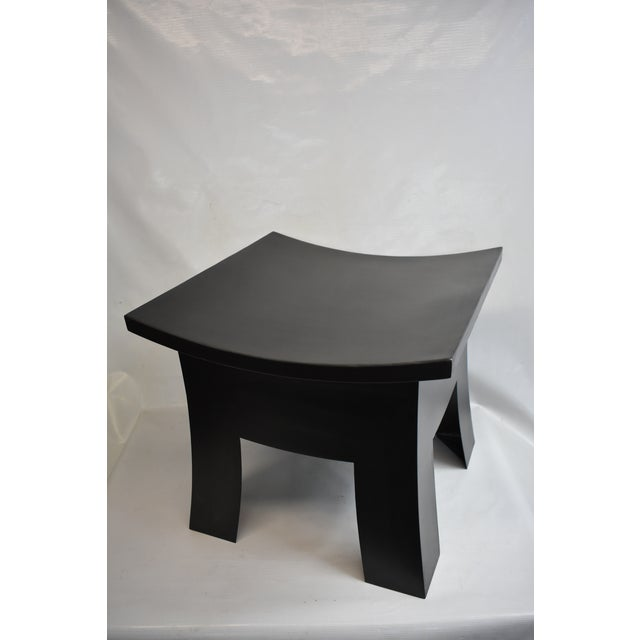 Asian Douglas Werner Torii Stool For Sale - Image 3 of 4