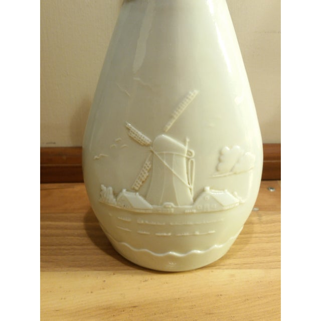 Vintage Jim Beam Milk Glass Decanters - A Pair - Image 8 of 8