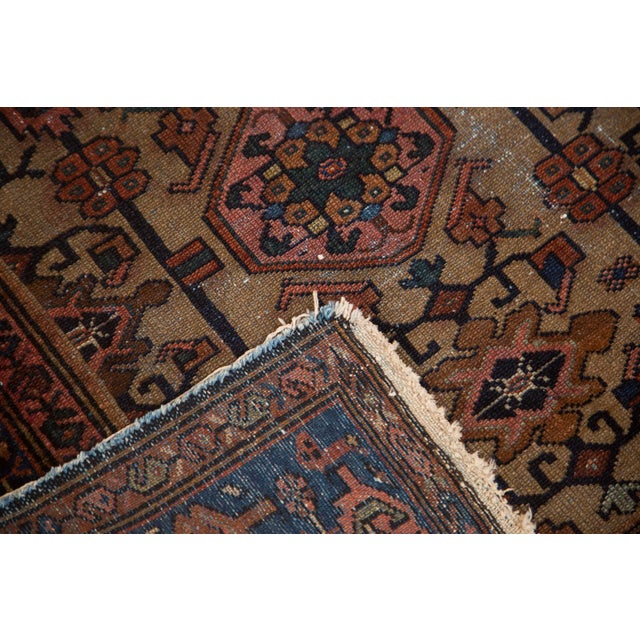 "Vintage Persian Hamadan Rug - 3'5"" X 6'4"" - Image 4 of 6"