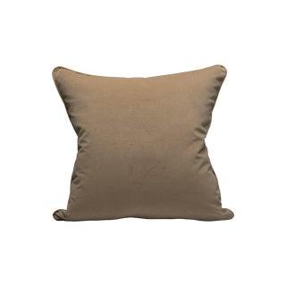 Scalamandre Indus Pillow, Sand For Sale