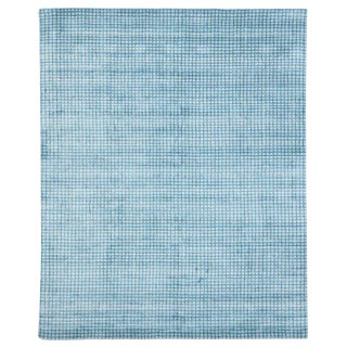 Contemporary Beach Style Area Rug - 8′ × 9′11″ For Sale