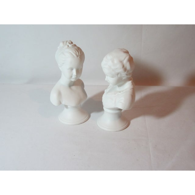 Boy and Girl Busts - Pair - Image 6 of 8