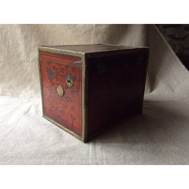 19th Century Chinese Tea Caddy For Sale - Image 9 of 12