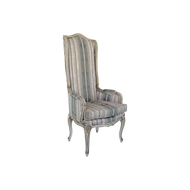 Florentine Dining Room: Italian Florentine Accentuated High Back Chair