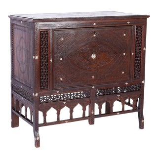 Syrian Cabinet and Blanket Chest For Sale