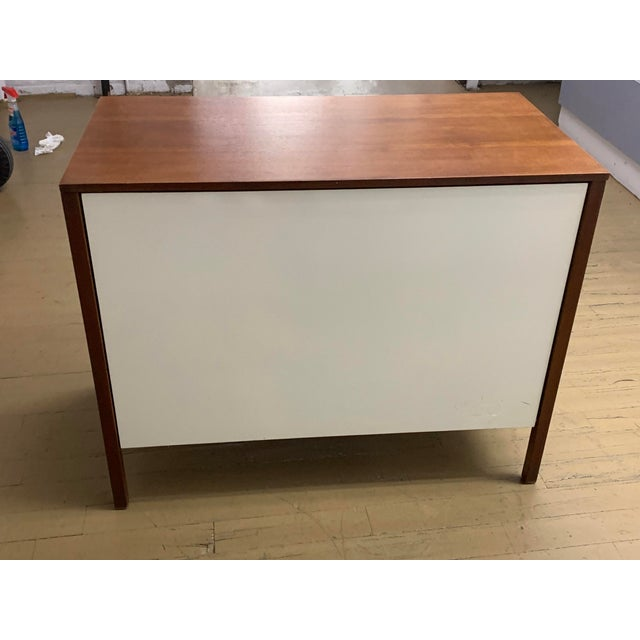 Wood 1960s Danish Modern Knoll Dresser or Nightstand For Sale - Image 7 of 13
