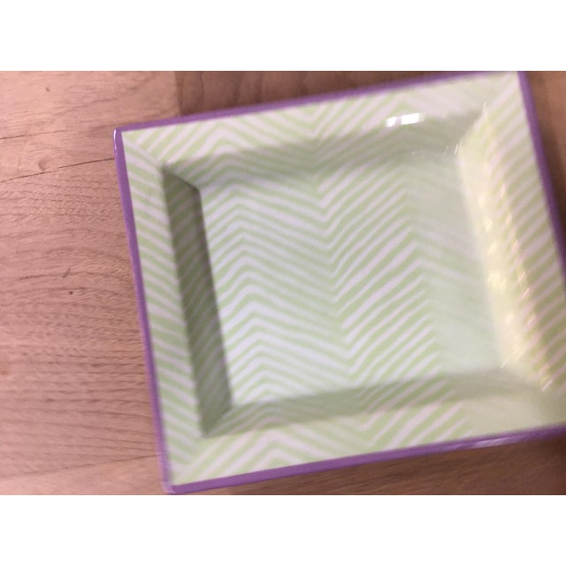 2010s Tozai Mini Tray Dishes - a Pair For Sale - Image 5 of 9