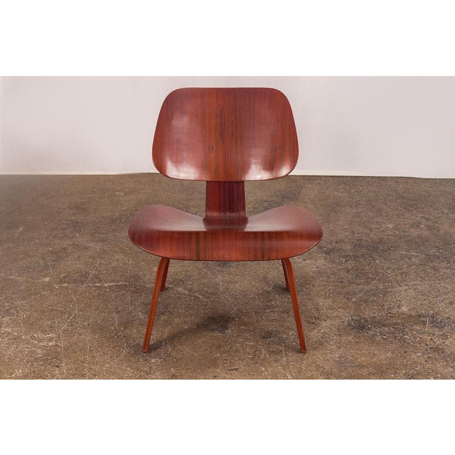 Rare Eames Pre-Production Rosewood LCW - Image 2 of 11