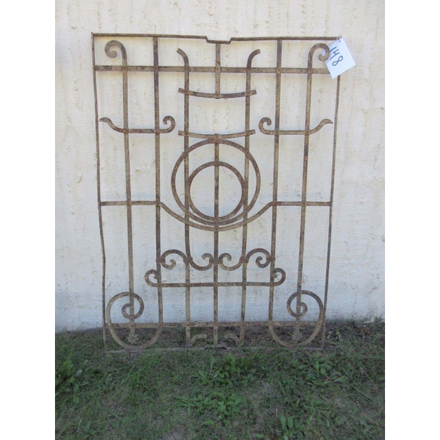 Antique Victorian Iron Gate Door For Sale - Image 7 of 7
