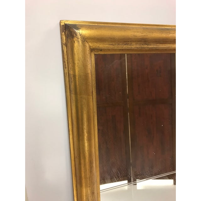 Mid-Century Modern Large Tommi Parzinger Mirror For Sale - Image 3 of 5