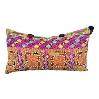 Antique Banjara Embroidered Pillow For Sale