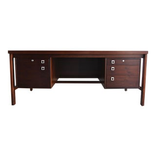Arne Vodder Rosewood Executive Desk for h.p. Hansen