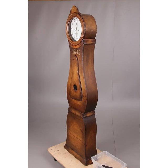 Swedish Longcase Grandfather Clock Anno 1845 For Sale - Image 4 of 12