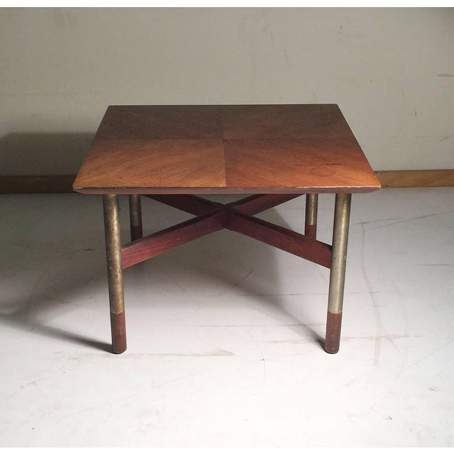 Mid 20th Century Rare Pair of Arne Vodder End Tables For Sale - Image 5 of 8