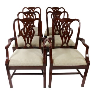 Baker Mahogany Dining Chairs - Set of 6