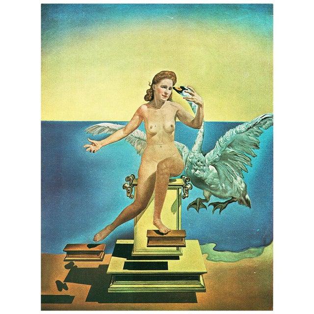 "1957 Salvador Dalí ""Leda Atomica"" Period Vintage Lithograph Print For Sale - Image 9 of 9"